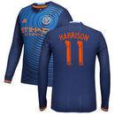 Jack Harrison New York City FC Fanatics Branded 2016 Long Sleeve Authentic Secondary Jersey - Navy