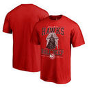 Atlanta Hawks Fanatics Branded Star Wars Roll Deep with the Empire T-Shirt - Red