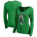 Boston Celtics Fanatics Branded Women's Star Wars Roll Deep with the Empire Long Sleeve T-Shirt - Kelly Green