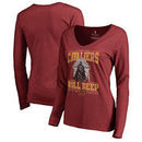 Cleveland Cavaliers Fanatics Branded Women's Star Wars Roll Deep with the Empire Long Sleeve T-Shirt - Garnet