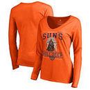 Phoenix Suns Fanatics Branded Women's Star Wars Roll Deep with the Empire Long Sleeve T-Shirt - Orange
