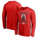 Atlanta Hawks Fanatics Branded Star Wars Roll Deep with the Empire Long Sleeve T-Shirt - Red