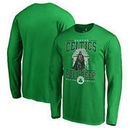 Boston Celtics Fanatics Branded Star Wars Roll Deep with the Empire Long Sleeve T-Shirt - Kelly Green