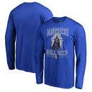 Dallas Mavericks Fanatics Branded Star Wars Roll Deep with the Empire Long Sleeve T-Shirt - Royal