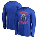 Detroit Pistons Fanatics Branded Star Wars Roll Deep with the Empire Long Sleeve T-Shirt - Royal