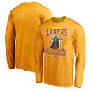 Los Angeles Lakers Fanatics Branded Star Wars Roll Deep with the Empire Long Sleeve T-Shirt - Gold