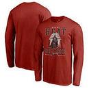Miami Heat Fanatics Branded Star Wars Roll Deep with the Empire Long Sleeve T-Shirt - Cardinal