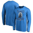 Oklahoma City Thunder Fanatics Branded Star Wars Roll Deep with the Empire Long Sleeve T-Shirt - Blue