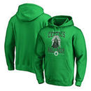 Boston Celtics Fanatics Branded Star Wars Roll Deep with the Empire Pullover Hoodie - Kelly Green