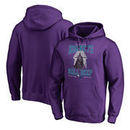 Charlotte Hornets Fanatics Branded Star Wars Roll Deep with the Empire Pullover Hoodie - Purple