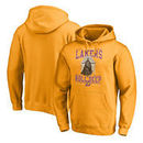 Los Angeles Lakers Fanatics Branded Star Wars Roll Deep with the Empire Pullover Hoodie - Gold
