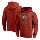 Miami Heat Fanatics Branded Star Wars Roll Deep with the Empire Pullover Hoodie - Cardinal