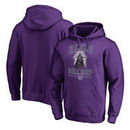 Sacramento Kings Fanatics Branded Star Wars Roll Deep with the Empire Pullover Hoodie - Purple