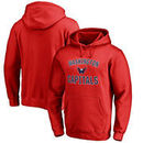 Washington Capitals Fanatics Branded Youth Wordmark Victory Arch Pullover Hoodie – Red