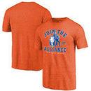 New York Knicks Fanatics Branded Star Wars Alliance Tri-Blend T-Shirt - Orange