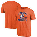 Phoenix Suns Fanatics Branded Star Wars Alliance Tri-Blend T-Shirt - Orange