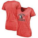 Atlanta Hawks Fanatics Branded Women's Star Wars Alliance Tri-Blend T-Shirt - Red
