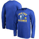 Golden State Warriors Fanatics Branded Youth Star Wars Alliance Long Sleeve T-Shirt - Royal