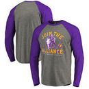 Los Angeles Lakers Fanatics Branded Star Wars Alliance Tri-Blend Long Sleeve T-Shirt - Heathered Gray