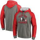 Atlanta Hawks Fanatics Branded Star Wars Alliance Raglan Sleeve Pullover Hoodie - Heathered Gray