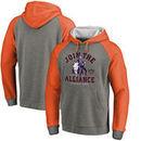Phoenix Suns Fanatics Branded Star Wars Alliance Raglan Sleeve Pullover Hoodie - Heathered Gray