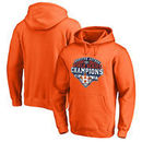 Houston Astros Fanatics Branded 2017 World Series Champions Bunt Pullover Hoodie - Orange