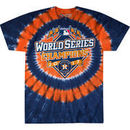 Houston Astros Liquid Blue 2017 World Series Champions Tie-Dye Concentric Banner T-Shirt – Navy
