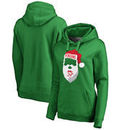 Pittsburgh Penguins Fanatics Branded Women's Jolly Pullover Hoodie - Kelly Green