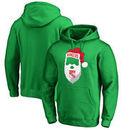 New York Rangers Fanatics Branded Jolly Pullover Hoodie - Kelly Green