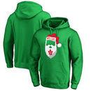 Toronto Maple Leafs Fanatics Branded Jolly Pullover Hoodie - Kelly Green