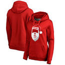 Pittsburgh Penguins Fanatics Branded Women's Jolly Pullover Hoodie - Red