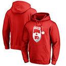 Philadelphia Flyers Fanatics Branded Jolly Pullover Hoodie - Red