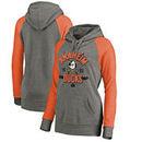 Anaheim Ducks Fanatics Branded Women's Hometown Collection Tri-Blend Raglan Hoodie – Heathered Gray