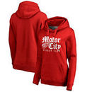Detroit Red Wings Fanatics Branded Women's Plus Size Hometown Collection Hoodie – Red