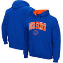 Boise State Broncos Stadium Athletic Arch & Logo Tackle Twill Pullover Hoodie – Royal