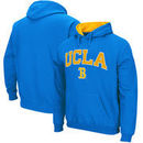 UCLA Bruins Stadium Athletic Arch & Logo Tackle Twill Pullover Hoodie – Blue