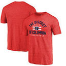 Washington Wizards Fanatics Branded The District Hometown Collection Tri-Blend T-Shirt - Red