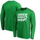 Boston Celtics Fanatics Branded Green Runs Deep Hometown Collection Long Sleeve T-Shirt - Kelly Green