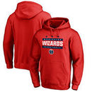 Washington Wizards Fanatics Branded Three Star Hometown Collection Pullover Hoodie - Red