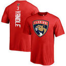 Keith Yandle Florida Panthers Fanatics Branded Youth Backer Name & Number T-Shirt – Red