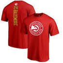 Kent Bazemore Atlanta Hawks Fanatics Branded Backer Name and Number T-Shirt - Red