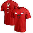 Nikola Mirotic Chicago Bulls Fanatics Branded Backer Name and Number T-Shirt - Red