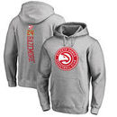 Kent Bazemore Atlanta Hawks Fanatics Branded Backer Name and Number Pullover Hoodie - Heathered Gray