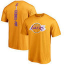 Kentavious Caldwell-Pope Los Angeles Lakers Fanatics Branded Backer Name and Number T-Shirt - Gold