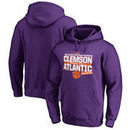 Clemson Tigers Fanatics Branded 2017 ACC Atlantic Football Division Champions Pullover Hoodie – Purple