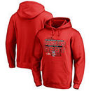 Wisconsin Badgers Fanatics Branded 2017 Big Ten West Football Division Champions Pullover Hoodie – Red