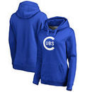 Chicago Cubs Fanatics Branded Women's Cooperstown Collection Wahconah Pullover Hoodie - Royal