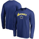 Seattle Mariners Fanatics Branded Big & Tall Cooperstown Collection Wahconah Long Sleeve T-Shirt - Royal