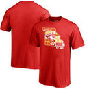 Kareem Hunt Kansas City Chiefs NFL Pro Line by Fanatics Branded Youth Player State T-Shirt – Red