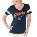 Kevin Harvick G-III 4Her by Carl Banks Women's First Pick V-Neck T-Shirt – Navy